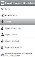 Screenshot of Dhaka International Airport