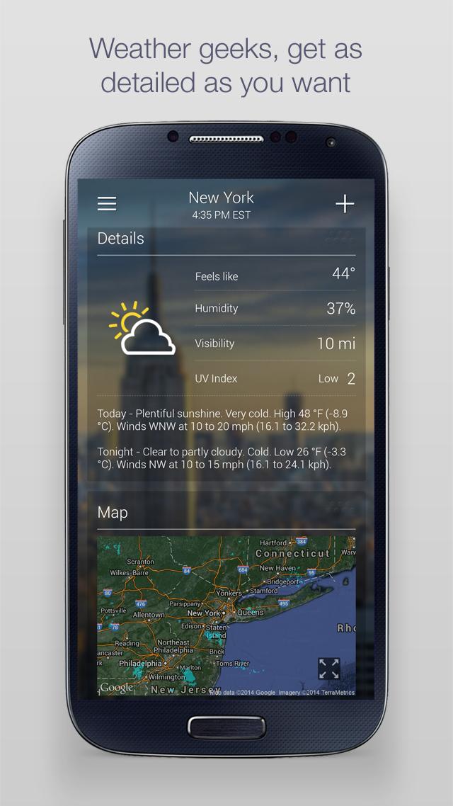 Yahoo Weather screenshot #3