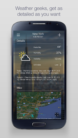 Yahoo Weather 1.3.9 screenshot 2130