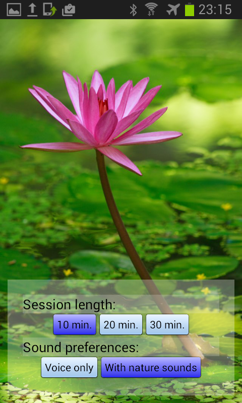 Deeply Relax - Yoga Nidra Lite - screenshot