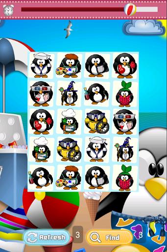Penguin Buddies Matching Game