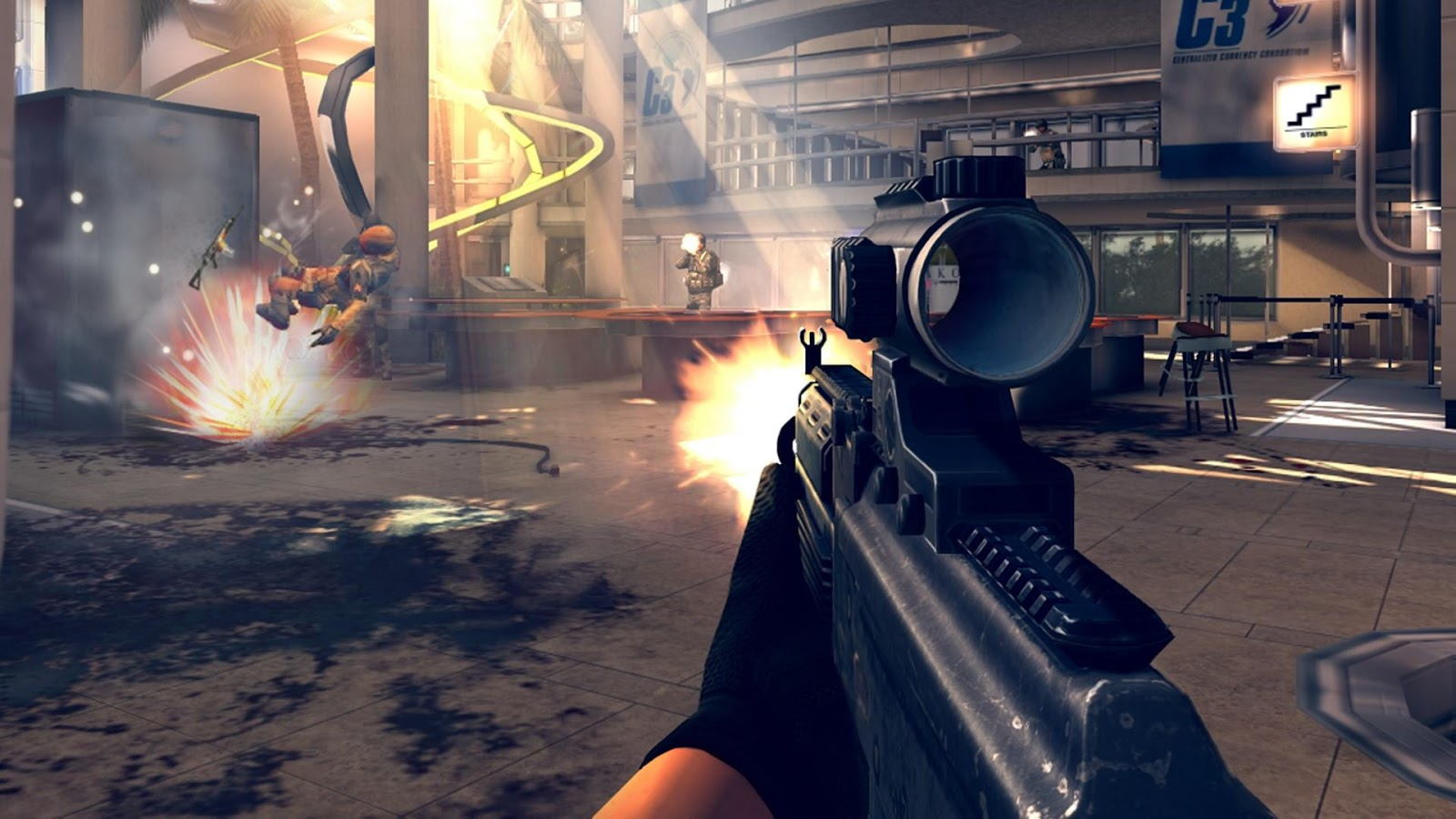 Modern Combat 4: Zero Hour - screenshot