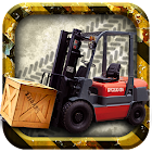 Forklift madness 3D simulator icon