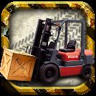 Forklift simulador loucura 3D icon