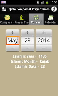 Qibla Compass & Prayer Times - screenshot thumbnail