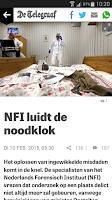 Screenshot of De Telegraaf
