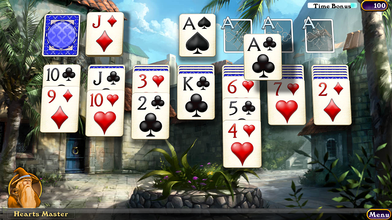 Hardwood Solitaire IV - screenshot