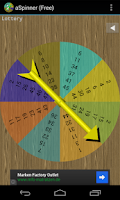 Screenshot of a Spinner, spin bottle (Free)