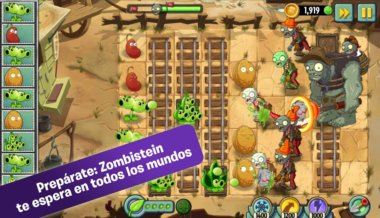 Plants vs. Zombies™ 2 - Aplicaciones de Android en Google Play