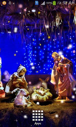 Christmas crib wallpaper 3