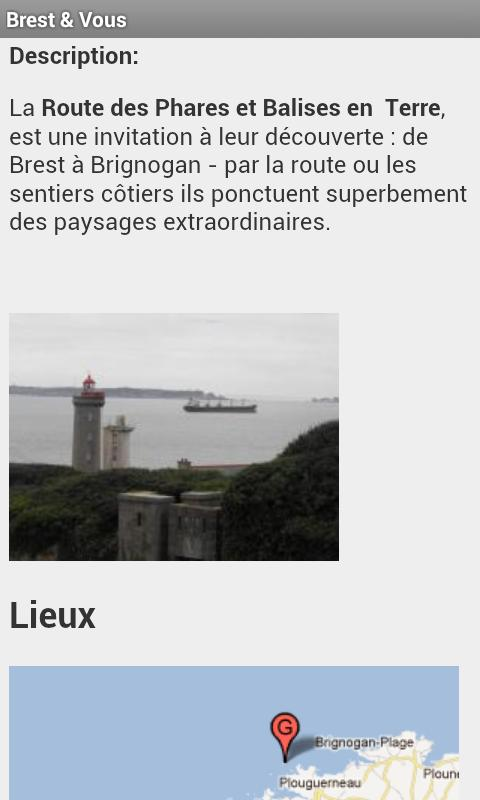 Brest & Vous- screenshot