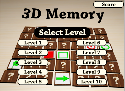 3DMemory - screenshot thumbnail