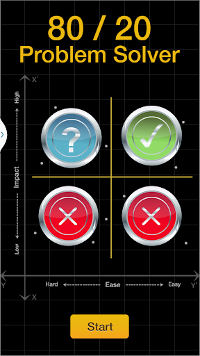 【免費商業App】80/20 Problem Solver-APP點子