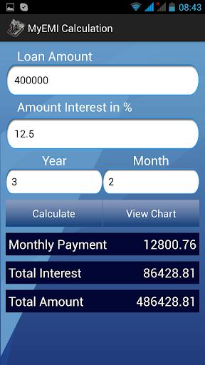 Free EMI Calculator