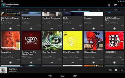 aWARemote for Winamp® Screenshot 10