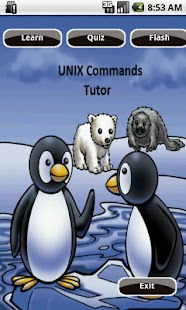 Unix Commands Tutor - screenshot thumbnail