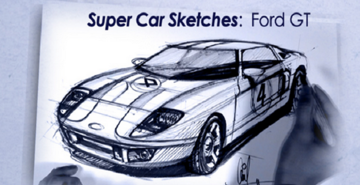 How To Draw Super Cars - screenshot