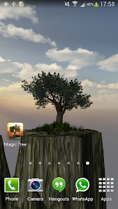Magic Tree Live Wallpaper screenshot 2