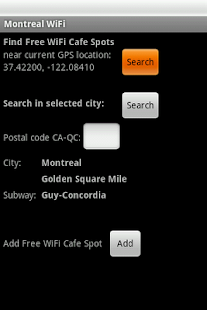 Montreal Free WiFi- screenshot thumbnail