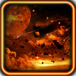 Galaxy Inferno live wallpaper