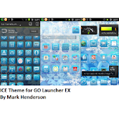Ice Theme - GO Launcher EX
