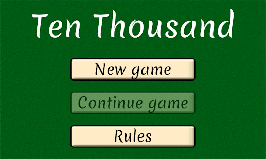 10,000 - The Dice Game- screenshot thumbnail
