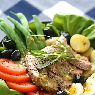 Salade Nicoise with Seared Tuna.