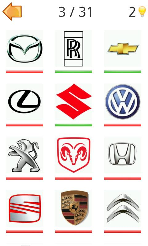 Logo Moto Quiz Challenge Cars - screenshot