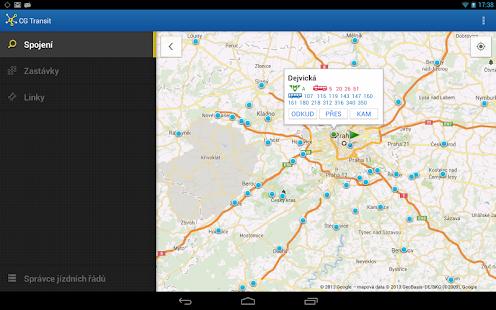 Offline Jízdní řády CG Transit Screenshot 28