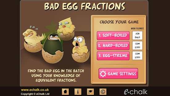 Chicken coop fractions games - screenshot thumbnail