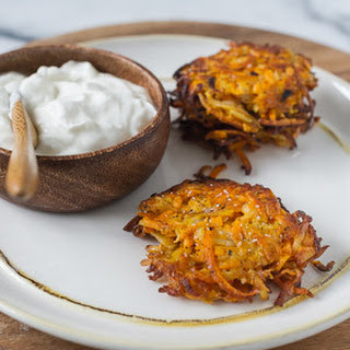 Sweet Potato, Parsnip, and Turnip Latkes