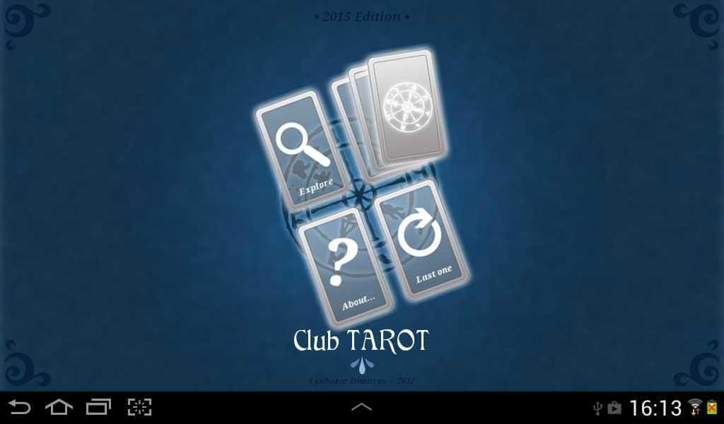 Club TAROT- screenshot