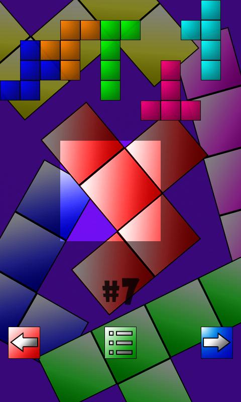 Puzzle - Tangram- screenshot