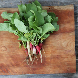 Radishes with Bacon Butter