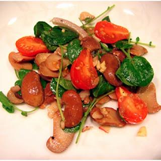 Scarlett Runner Bean Salad with Cherry Tomatoes.