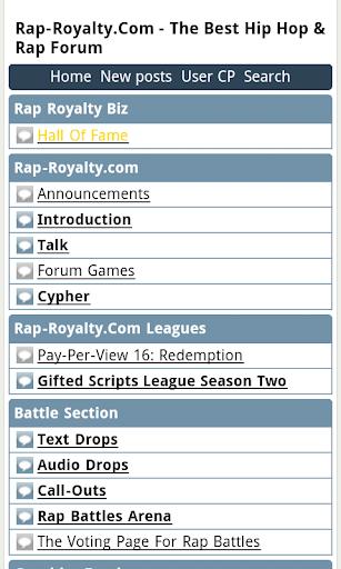 Rap Battle Forum