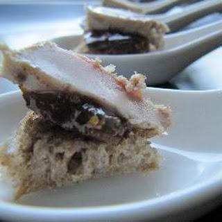 Fig and Foie Gras Bites Recipe
