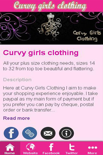 Curvy girls clothing