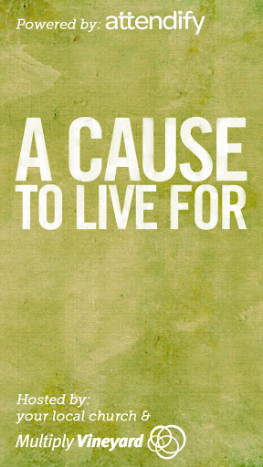 A Cause To Live For
