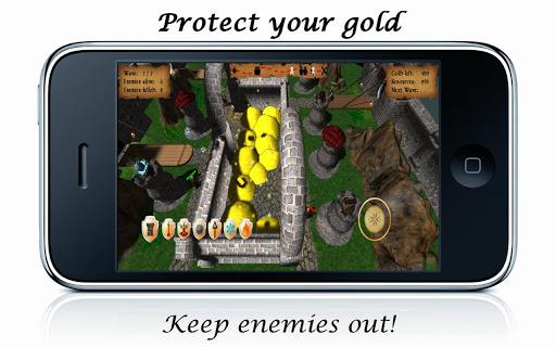 免費街機App Gold Defenders 阿達玩APP