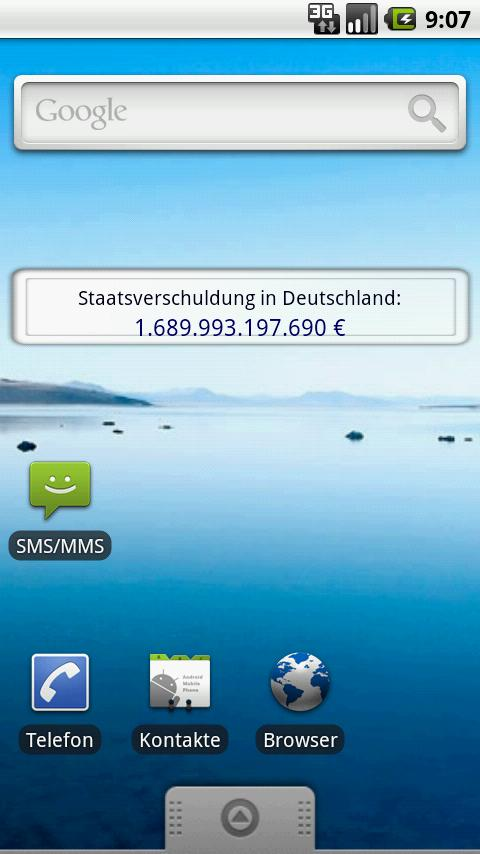 Germany´s National Debt Clock - screenshot