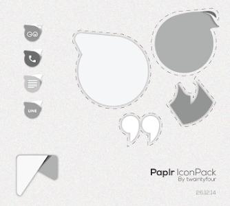 Paplr IconPack v1.1