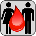 Matching Your  Blood Group icon