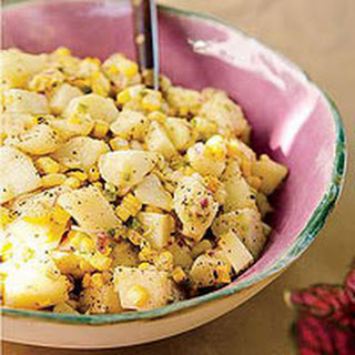 Grilled Corn-and-Red Potato Salad Recipe