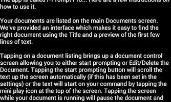 Screenshot of i-Prompt Pro
