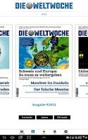 Screenshot of Weltwoche