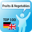 100 Fruits & Vegetables Keywor logo