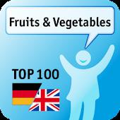 100 Fruits & Vegetables Keywor