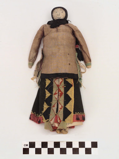 Doll, late 19th to early 20th c.