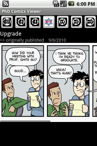 PhD Comic Viewer
